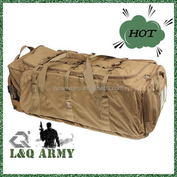 Fashionable Military Rolling Duffle Trolley Bag