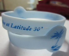 brand name silicone wristband id bracelets vinyl wristbands