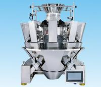 10 head automatic standard multihead weigher weighting and packing machine /multiweight weighers