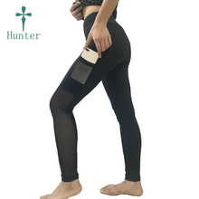 Drop Shipping Factory Directly Yoga Pants Online Low MOQ Stock Black Sports Yoga Pants