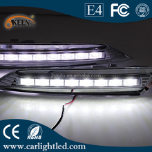 Good Quality High Power 12V Daytime Running Lights Car Led DRL lamp for Crosstour