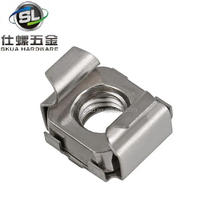 Hot sale square cage nut cassette nut square weld nut for car fasteners