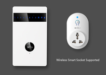 wireless GSM Alarm System for home security like anti-theft+fire+smoke etc function