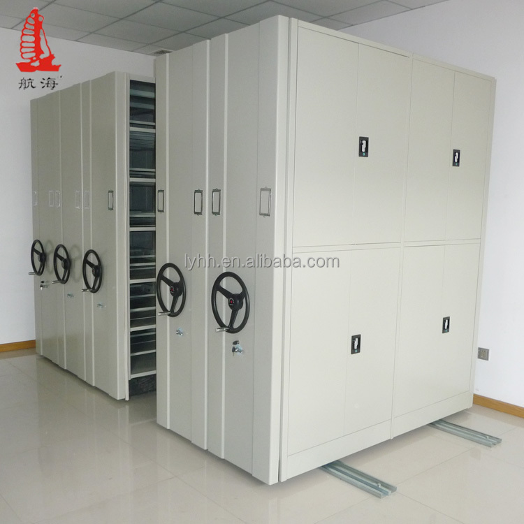 Cargo &amp; Storage Equipment <strong>Mobile</strong> Shelving System High Quality foshan movable metal office shelves