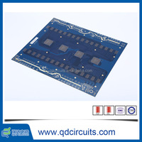 High quality 1oz 10 layers carbon mask pcb sample, peelable glue pcb