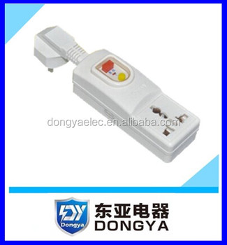 230V Plug&socket portable safety universal prcd / GFCI to European market