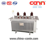 11kv Amorphous Alloy Oil Immersed Power Transformer