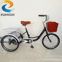Cheap 20inch three wheel bicycle/adult tricycle/trike for sale