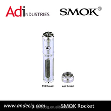 2015 Best quality !!!Genuine Smok Rocket vv/vw mod Smoktech Rocket Mod magnetic 18650 vv vw rocket mod