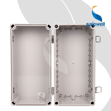 Saipwell 380x190x180mm cable diy dac enclosure box small abs pcb enclosure with hinge (SP-02-381918)