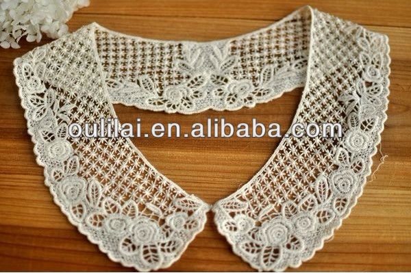 Machine embroidery neck lace designs
