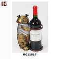New Metal Pig Decorative Wine Bottle Holder