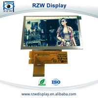 Parallel 24 bit RGB 5 inch 800x480 tft lcd lcd display screen module