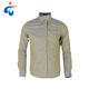 Top quality fashion style jacquard olive green mens clothing shirts casual