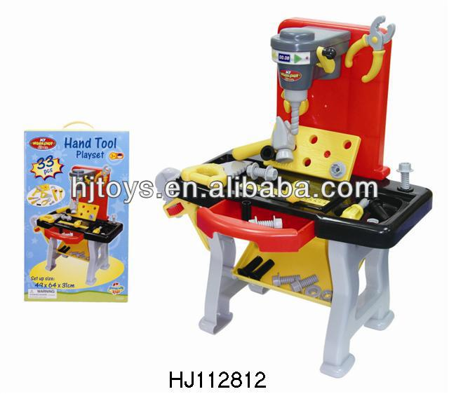tool toys play house plastic workbench HJ112812