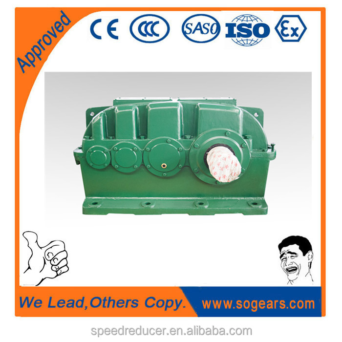 triple stage gear box reducer