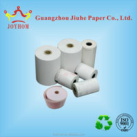 FOB price us$0.1/roll glossy image thermal paper rolls custom paper roll57*40