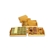 Wooden Montessori Materials,Educational Wooden Toys,Montessori Golden Bead Material