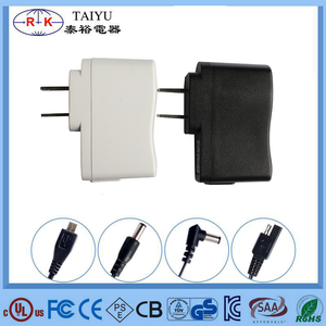 5w USB AC/DC power adapter / 5v 1a universal travel adapter with CE BS UL SAA approval
