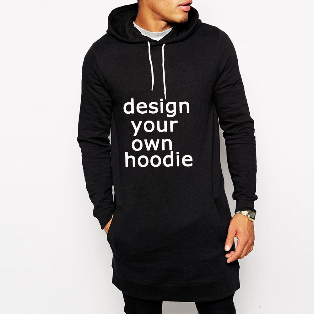 Custom fleece extra long tall hoodies wholesale buy tall for Custom shirts and hoodies cheap