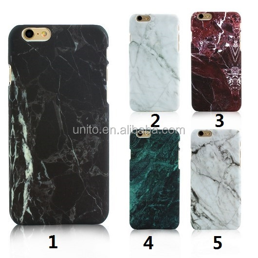 Hot Selling Fashion Marble Phone Case,Hard PC Case for iPhone 6 6S 6 Plus 5 5s SE Cover Coque Ultrathin Back Case Cover