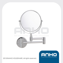 Two-Sided Extension Wall Mount Mirror with Magnification, cosmetic mirror