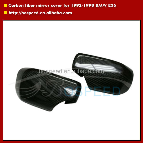 E46 mirror cover Carbon fiber mirror cover for BMW E46 1998-2002