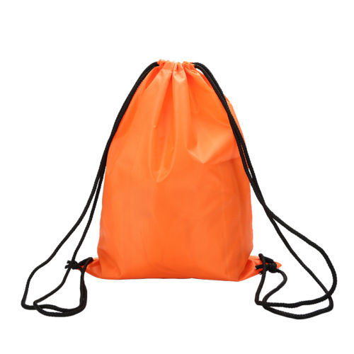 New Arrival football drawstring bags carry on print backpack