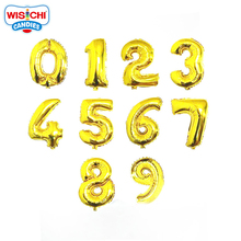 Wonderful Colourful Helium Number Inflatable Foil Balloon