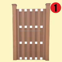 waterproof outdoor WPC garden fencing board