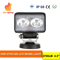 12v auto car lamp 20w 4 inch motorcycle led driving lights