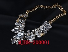 Latest hotselling chains necklace, rose gold necklace fashion jewelry MJBN-20001