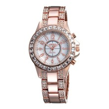 Rose Gold WeiQin Brand Quartz Watch Vogue Ladies' Watch Women's Watch