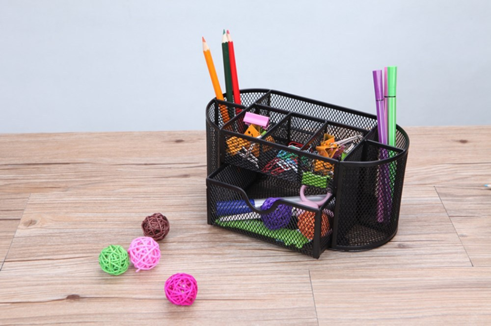 Multi-function Composite Desk Creative Rocodex Supplies Caddy