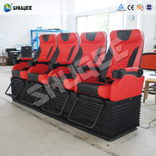 Attractive cinema film 4D 5D 6D ride 7D movie theater simulator seat for entertainment