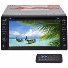 Car Stereo 2 DIN DVD Player 6.2 Inch HD Touchscreen Bluetooth SD USB
