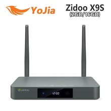 2017 Newest Zidoo X9S Android 6.0 Smart tv box Zidoo X9S Realtek RTD1295 Quad-Core android 4K TV BOX