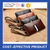 Large capacity cell phone men's zipper clutch wallet for business men