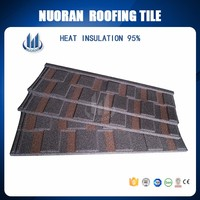 2016 popular spanish clay flat shingle roof tile for sale