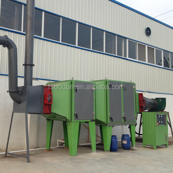 Unprocessed Air Cleaning Electrostatic Equipment