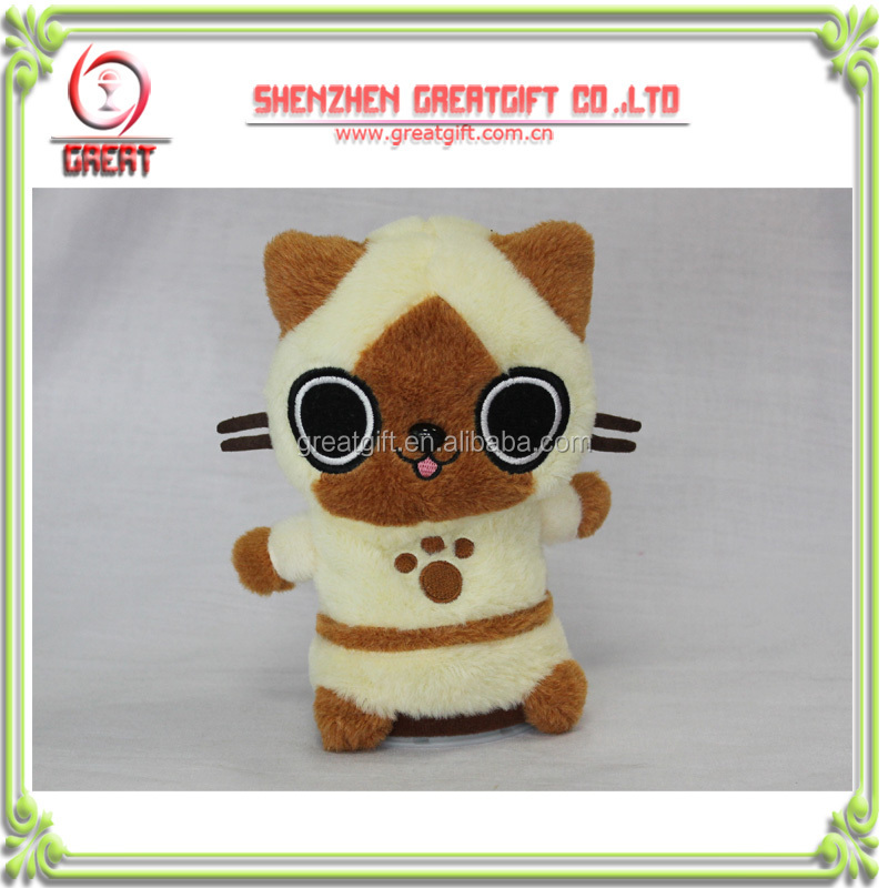 Latest Fancy Owl Voice Recording plush toys,stuffed toys electronic toys for kids;kit's gift