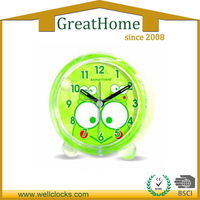 children acrylic table clock