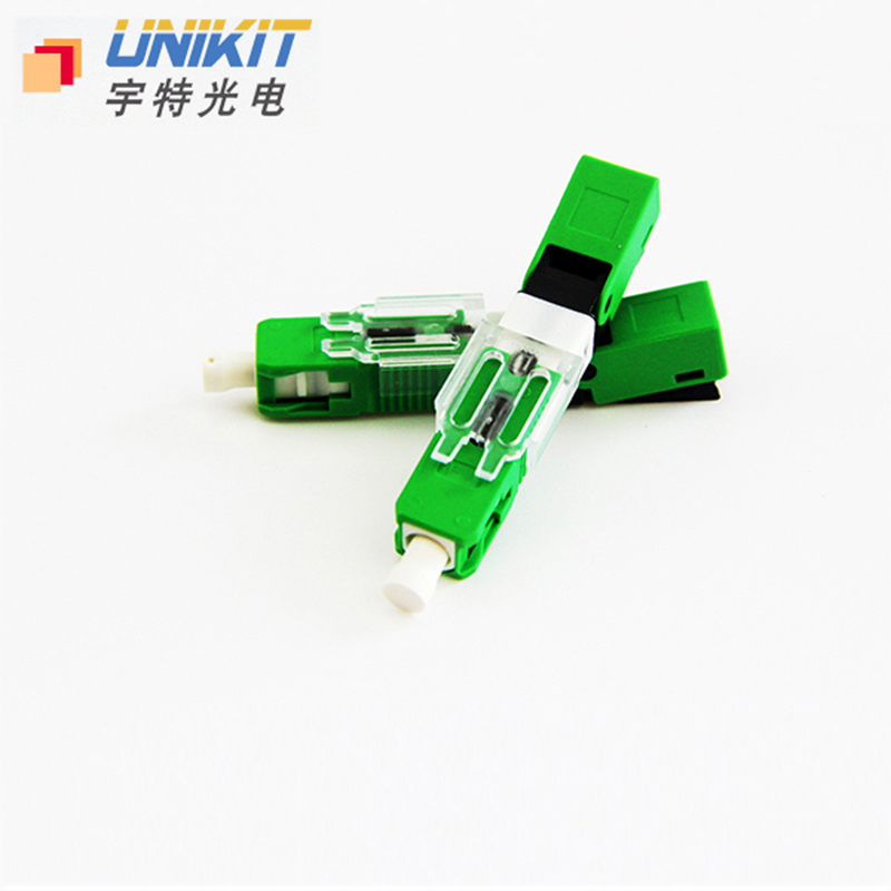 High Reliability Optical Passive Components SC/APC FTTH Field Assembly Fast Connector