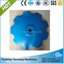 agricultural machine/Top quality 65Mn steel harrow disc/disc blade/disc harrow blade