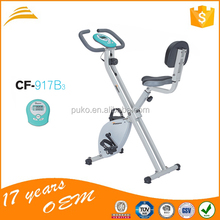 New design folding X magnetic exercise bike for home use/ China Wholesale Magnetic Spinning Bike Fitness Spinning Bike