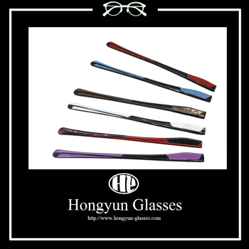 Good Quality Pattern Double Colors Glasses Temple Acetate Spring Hinge EyewearTemple
