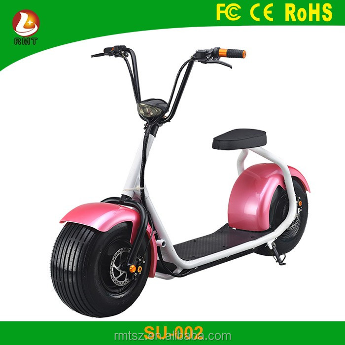 Motorcycle Big Bike 1000w Scooter Harley Electric Scooter Hoverborad Two Wheel