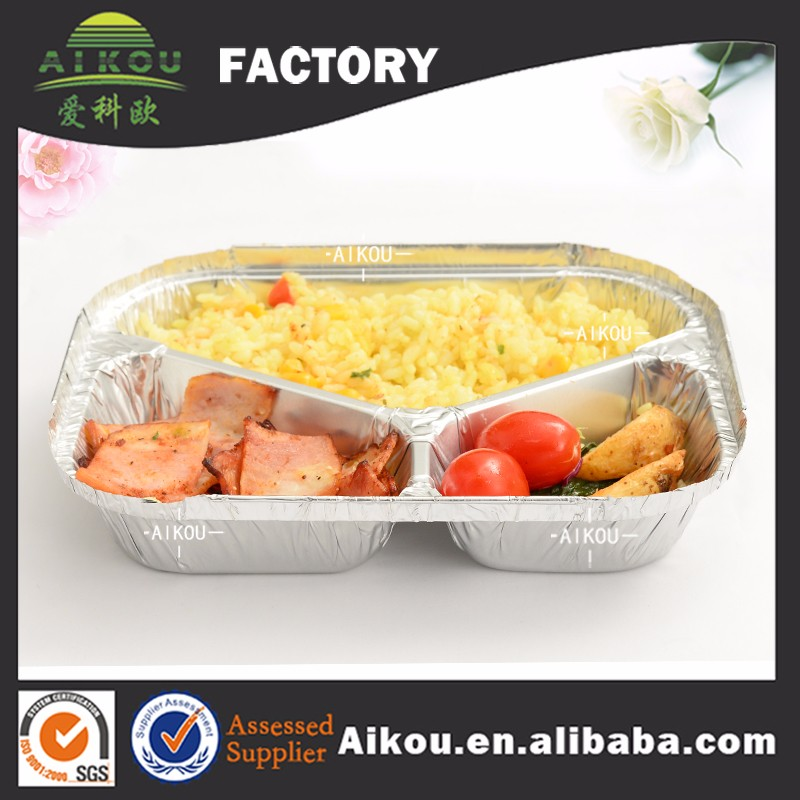 Aluminum foil cheap warmers buffet one time use food container
