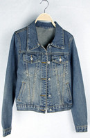 Korean Style Latest High Quality Women's Casual Denim Jacket