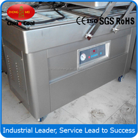 Hot sale DZ-500/2SB double chamber vacuum packaging machine with nitrogen gas